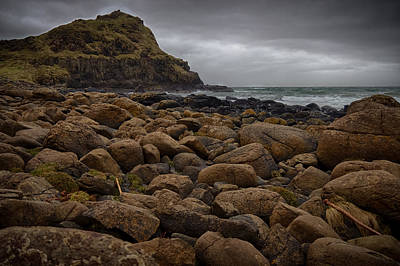 Photograph - Causeway Rocks by Alex Leonard