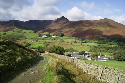 Photograph - Causey Pike From Little Town by Pete Hemington