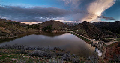 Photograph - Causey Spring Sunset by Justin Johnson