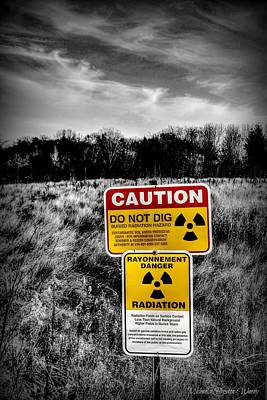 Photograph - Caution by Michaela Preston