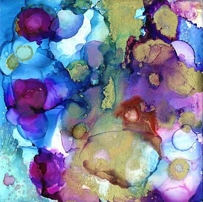 Ceramic Art - Cava Cava Oceans by Pat Saunders-White