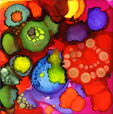 Painting - Cava Cava Red by Pat Saunders-White
