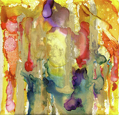 Painting - Cava Gold by Pat Saunders-White