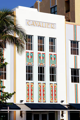 Photograph - Cavalier Hotel by Art Block Collections