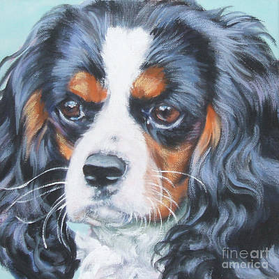Painting - Cavalier King Charles Spaniel  by Lee Ann Shepard