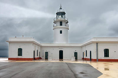 Photograph - Cavalleria Lighthouse In Minorca by Pedro Cardona Llambias