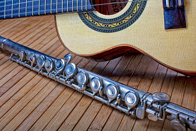 Photograph - Cavaquinho And Flute by Kim Wilson