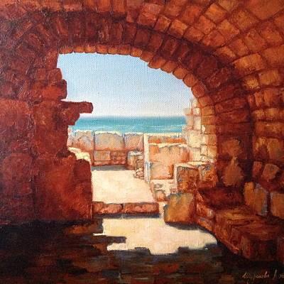 Seem Painting - Cave by Anna Shurakova