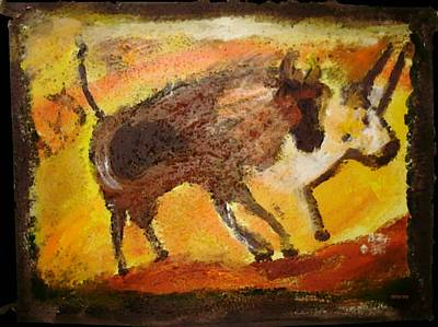 Mixed Media - Cave Art by Shelley Bain