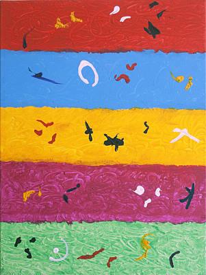 Ethnic Painting - Rock Art by Stormm Bradshaw