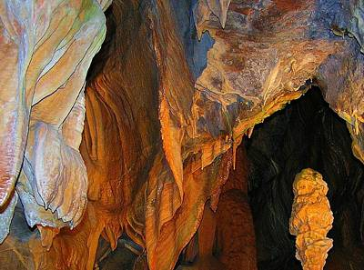 Photograph - Cave At Cheddar Gorge  by Jen White
