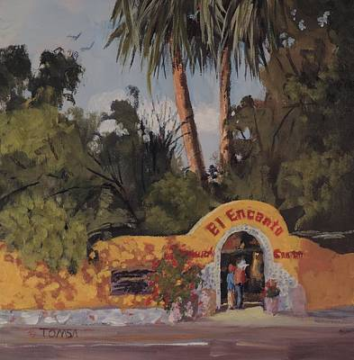 Painting - Cave Creek Favorite by Bill Tomsa