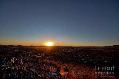 Photograph - Cave Creek Sunset by David Arment