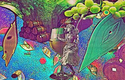 Photograph - Cave Dancer Dances With Wine by Sondra Barrett