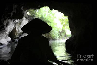 Photograph - Cave Exit  Vietnam  by Chuck Kuhn