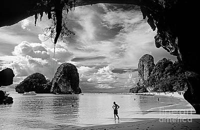 Photograph - Cave Light - Krabi Thailand by Craig Lovell
