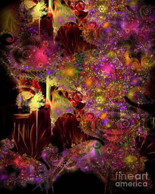 Digital Art - Cave Of Forgotten Dreams by Edmund Nagele