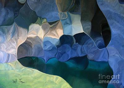 Digital Art - Cave Of Soul by Leo Symon