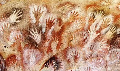 Cave Of The Hands - Cueva De Las Manos Art Print