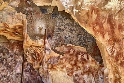 Cave Of The Hands Patagonia Argentina Art Print