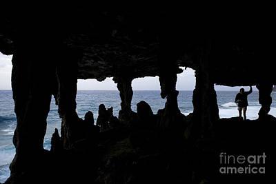 Rurutu Photograph - Cave On Rurutu Island, Polynesia by Jean-Louis Klein & Marie-Luce Hubert