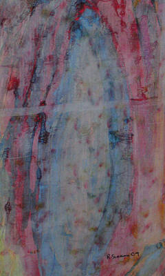 Mixed Media - Cave Opening by Russell Simmons