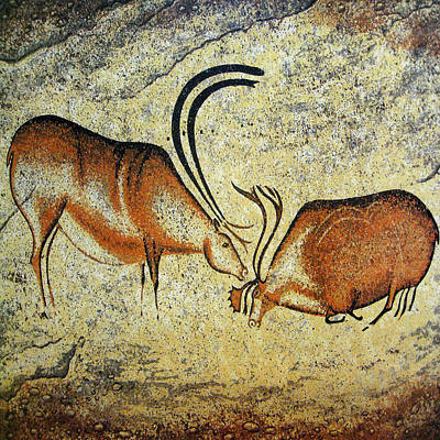 Photograph - Cave Painting 1 by Andrew Fare