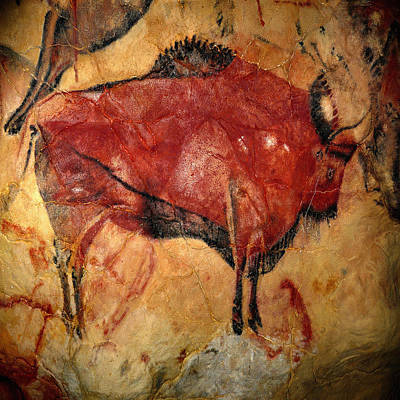 Photograph - Cave Painting 3 by Andrew Fare