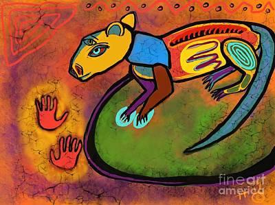 Cave Rat Art Print