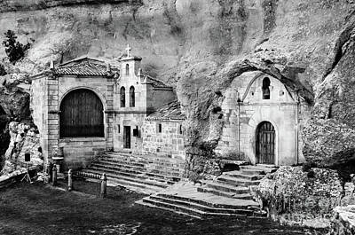 Photograph - Cave Shrine Of Saint Thyrsus And Saint Barnabas by RicardMN Photography