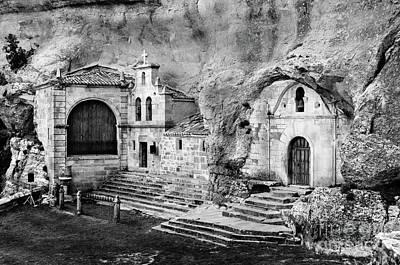 Photograph - Cave Shrine Of Saint Thyrsus And Saint Barnabas by RicardMN Photography