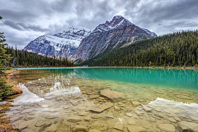 Photograph - Cavell Lake Jasper by Pierre Leclerc Photography