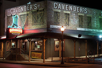 Photograph - Cavender's Outfitters Fort Worth Texas by Rospotte Photography
