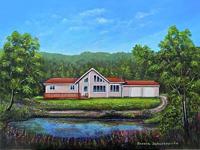 Painting - Cavendish House by Bozena Zajaczkowska