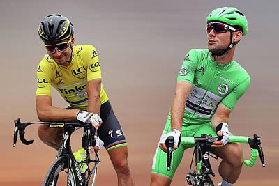 Cyclist Photograph - Cavendish V Sagan 4 by Smart Aviation