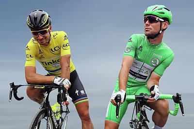 Cyclist Photograph - Cavendish V Sagan 1 by Smart Aviation