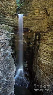 Photograph - Cavern Cascade by Brad Marzolf Photography