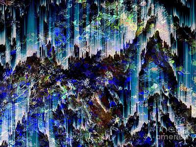 Digital Art - Cavern by Cooky Goldblatt