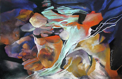 Painting - Cavernous Tumble by Rae Andrews
