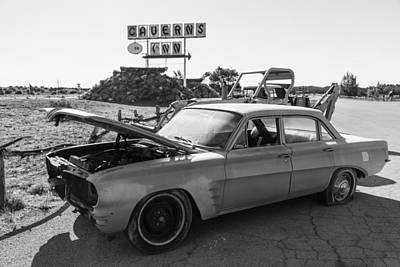 Photograph - Caverns Inn Car Route 66 by John McGraw