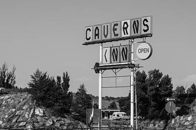 Photograph - Caverns Inn Route 66 by John McGraw