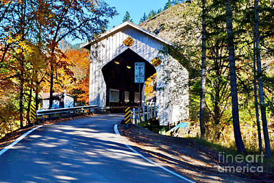 Photograph - Cavitt Bridge Approach by Ansel Price