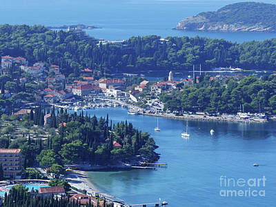Photograph - Cavtat - Croatia by Phil Banks