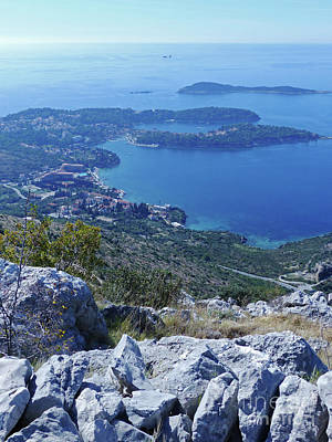 Photograph - Cavtat From The Ronald Brown Path by Phil Banks