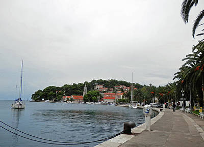 Photograph - Cavtat Harbour by Pema Hou