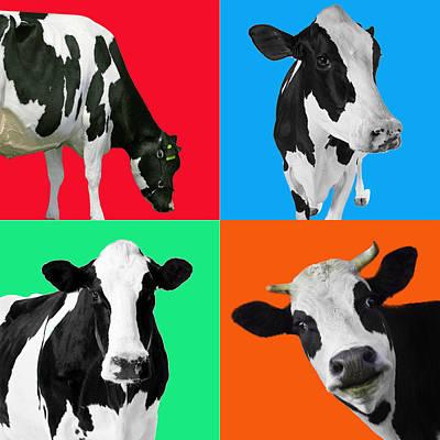 Milk Digital Art - caw by Mark Ashkenazi