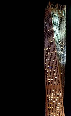Architecture Digital Art - Cayan Tower by Art Spectrum