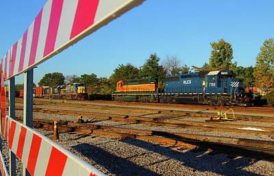 Photograph - Cayce South Carolina Trains by Joseph C Hinson Photography