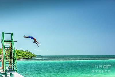 Photograph - Caye Caulker Belize C.a. by David Zanzinger