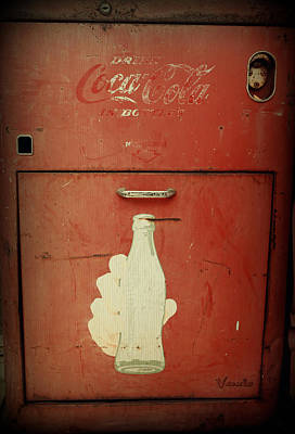 Photograph - Cayman Coca Cola by Laurie Perry